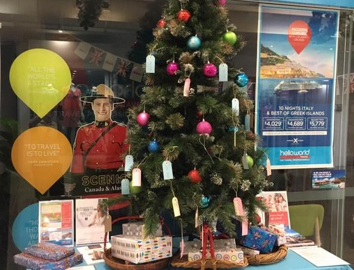 Christmas Giving Tree Kenmore